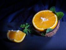 Pomarańcze i koks Obraz Royalty Free