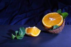 Pomarańcze i koks Obraz Stock