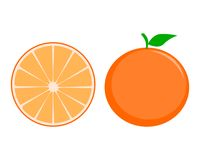 Pomarańcze - ilustracja Zdjęcie Stock