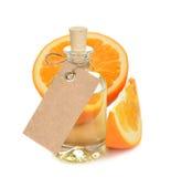 Pomarańcze istotny olej Zdjęcia Royalty Free