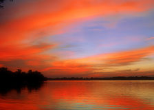 pomarańcze lake Fotografia Royalty Free