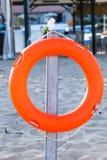 Pomarańcze lifebuoy Fotografia Royalty Free