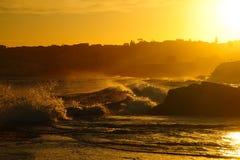 Pomarańcze macha seascape Fotografia Royalty Free