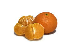 Pomarańcze, mandarynka, tangerine Obrazy Stock