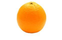 pomarańcze nad biel Zdjęcie Stock