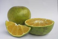 Pomarańcze odizolowywa Zdjęcie Stock