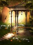 Pomarańcze ogród Obrazy Royalty Free