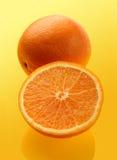 pomarańcze owocowych Zdjęcia Royalty Free