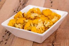 Pomarańcze piec kalafior Zdjęcie Stock