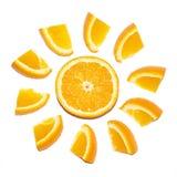 pomarańcze pogodna Zdjęcie Stock