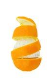 Pomarańcze spirala obraz royalty free