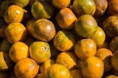 pomarańcze stos Fotografia Royalty Free