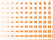 pomarańcze swuared Obraz Stock