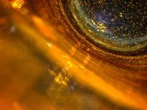 pomarańcze szklana Zdjęcia Stock