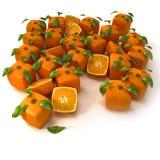 pomarańcze techno Obraz Royalty Free