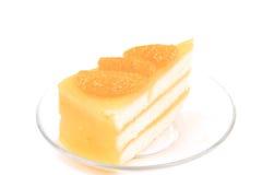 Pomarańcze tort Zdjęcie Royalty Free