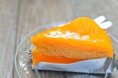 Pomarańcze tort Obrazy Royalty Free