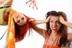 pomarańcze zabawy Obraz Royalty Free