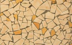 Pomarańczowa Ceramiczna tekstura Fotografia Stock