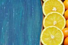 Pomarańczowa drewniana baza Obraz Stock