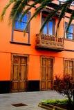 Pomarańczowa fasada Palma Obraz Royalty Free