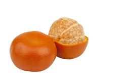 Pomarańczowa mandarynka Fotografia Royalty Free