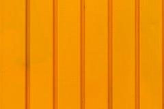 Pomarańczowa metalu drzwi tekstura Zdjęcie Stock