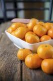 Pomarańczowa owoc Zdjęcia Stock