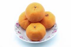 Pomarańczowa owoc Fotografia Stock