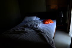 pomarańczowa poduszki Zdjęcie Royalty Free