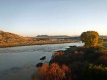 Pomarańczowa rzeka Fotografia Stock
