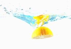 pomarańczowa target1308_0_ woda Zdjęcia Stock