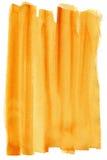 Pomarańczowe akwarele Obrazy Royalty Free