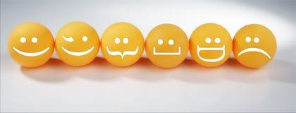 pomarańczowe sfery Zdjęcie Royalty Free