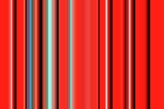 Pomarańczowej czerwieni phosphorescent linie projekt i wzór Fotografia Stock