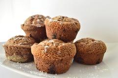 Pomarańczowi Czekoladowi Muffins Zdjęcie Royalty Free
