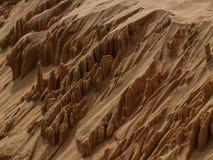Pomarańczowi piasków kopowie Fotografia Royalty Free