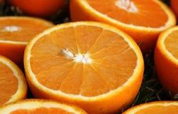pomarańczowi plasterki obraz stock