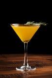 Pomarańczowy alkoholu koktajl Zdjęcie Stock