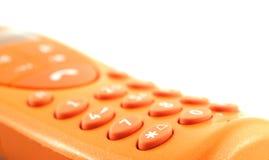 pomarańczowy danego telefon Fotografia Stock