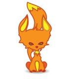 Pomarańczowy kiciunia kot ilustracji