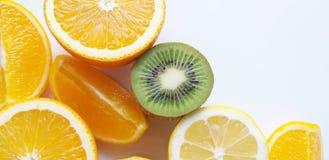 Pomara?czowy owocowy tropikalny t?o ?wie?y, lato obraz royalty free