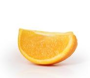 Pomarańczowy plasterek   Zdjęcia Stock