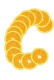 pomarańczowy slince fotografia stock