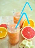 pomarańczowy smoothie Obraz Stock