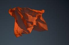 pomarańczowy szalik Obrazy Stock