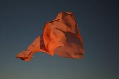 pomarańczowy szalik Fotografia Royalty Free