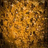 Pomarańczowy szklany blok Obrazy Royalty Free