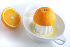 pomarańczowy target1139_0_ Zdjęcie Royalty Free
