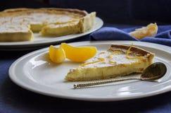 pomarańczowy tarta Zdjęcie Stock